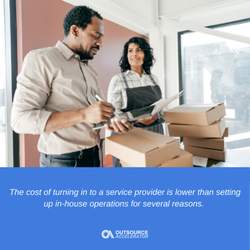 Benefits of outsourcing for small businesses