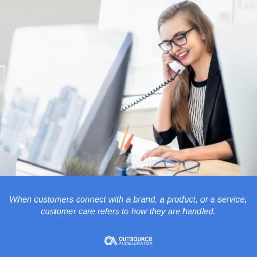 Defining customer care