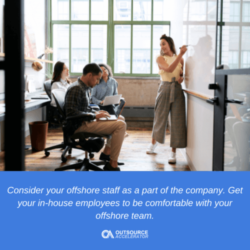 Other things to consider when hiring an offshore staff