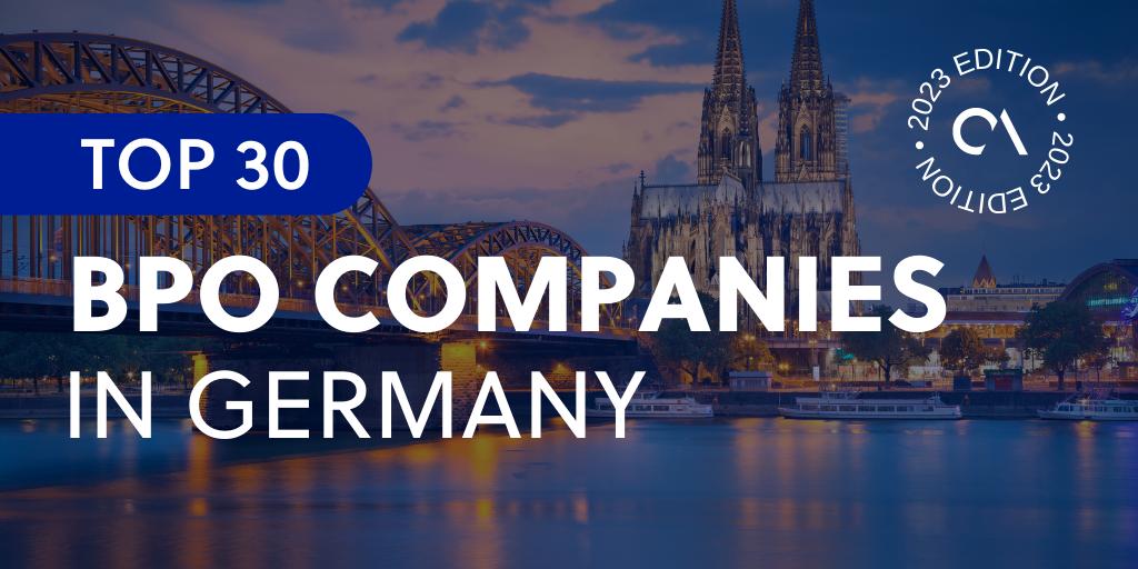 Top 30 BPO companies in Germany