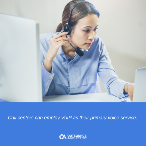 What is a VoIP call center?