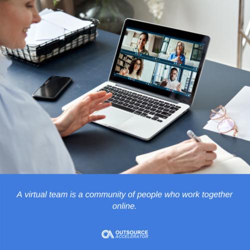 What is a virtual team