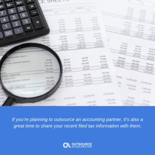 When is the best time to outsource accounting