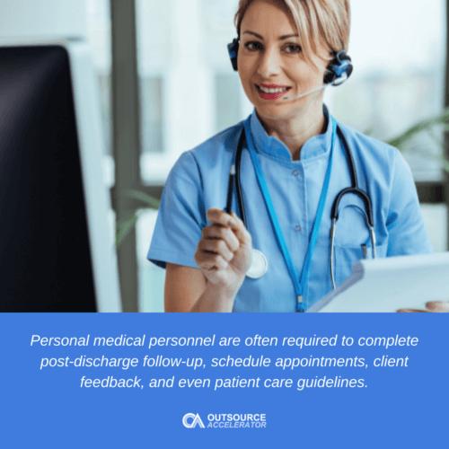 Advantages of using a hospital call center partnership