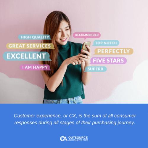 CX definition