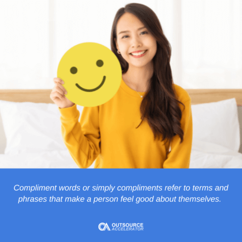 Compliment words for customer service