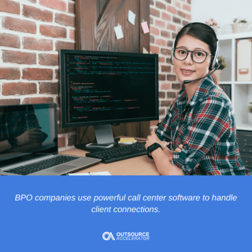 Most-used call center software features