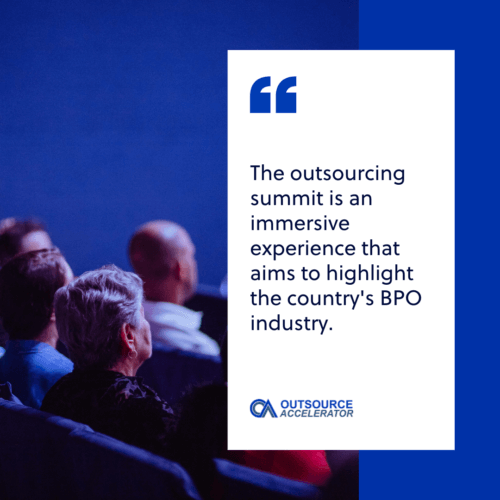 Outsourcing summit definition