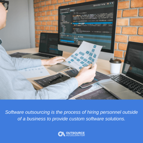 What is software outsourcing