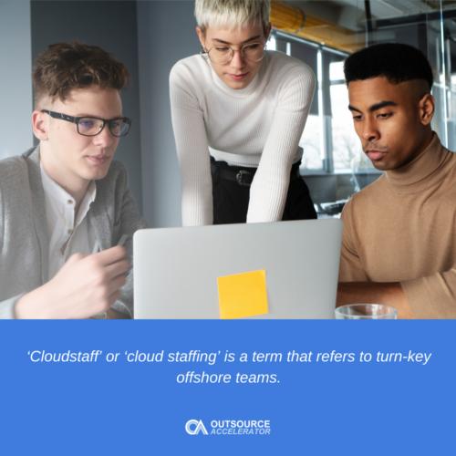 Cloud staffing