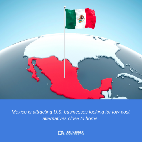 outsource to Mexico