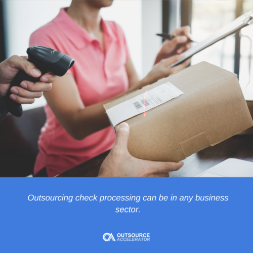 outsourcing check processing