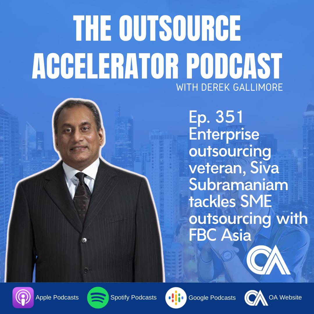 Enterprise outsourcing veteran, Siva Subramaniam tackles SME outsourcing with FBC Asia
