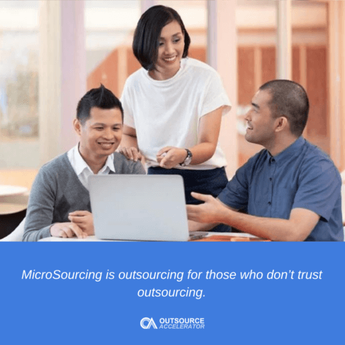 How MicroSourcing encourages clients to outsource
